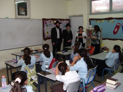 MK Solodkin at Or Chaya Girls' School
